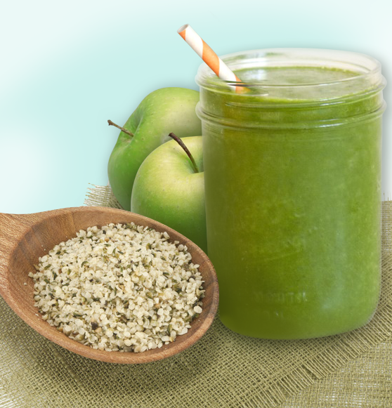 hemp_recipes_green_smoothie