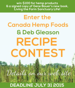 Canada Hemp Foods Recipe Contest